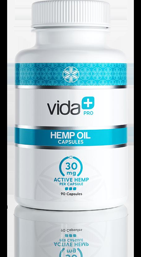 VIDA+ Hemp CBD Capsules